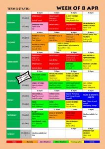 TIMETABLE 2013 - Term 3