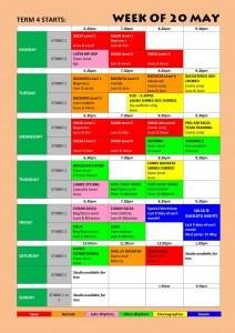TIMETABLE 2013 - Term 4