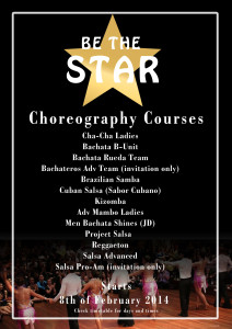 Be a star 2014 - choreographies