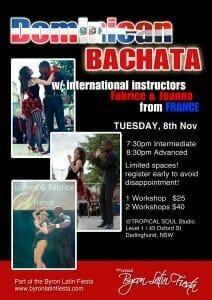 Dominican Bachata workshop