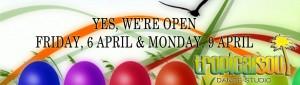 Open Easter Web Banner