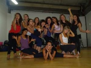 Samba Girls Training