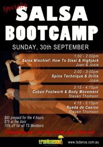 Salsa Bootcamps 2012 September