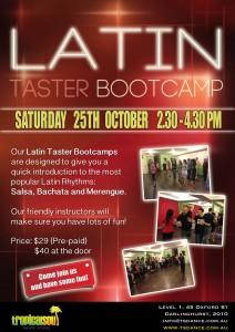 Latin Taster Bootcamp Oct
