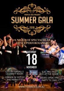 Summer Gala 2017 poster