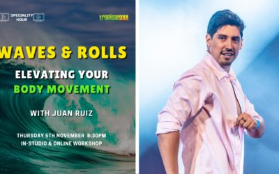 Specialty Hour: Waves & Rolls – Elevating your Body Movement