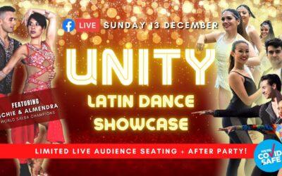 Watch the UNITY: Latin Dance Showcase LIVE STREAM