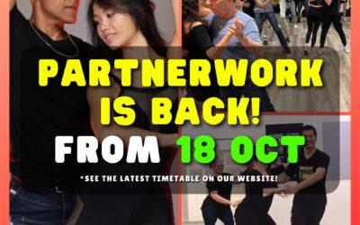 💥 PARTNERWORK IS BACK – October 18 💃🕺